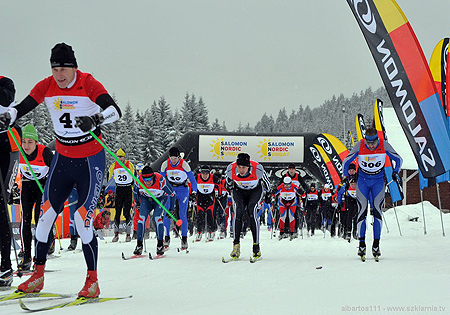 Salomon Nordic Sunday, Jakuszyce 2011, start