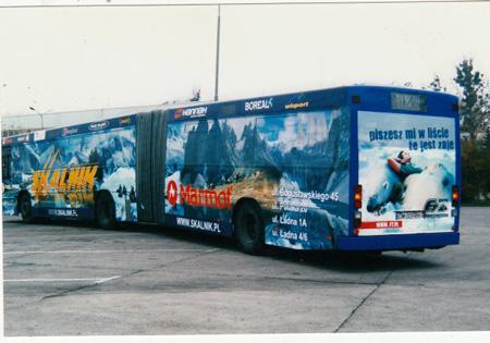 Jeden ze skalnikowych autobusów (fot. Skalnik)