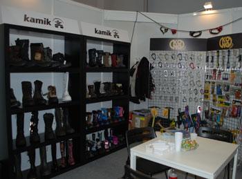 Targi Kielce Sport-Zima 2011, stoisko marki Kamik (fot. 4outdoor.pl)