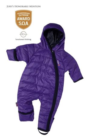 Isbjörn of Sweden, kombinezon dla niemowląt Light Weight Baby Jumpsuit Eco