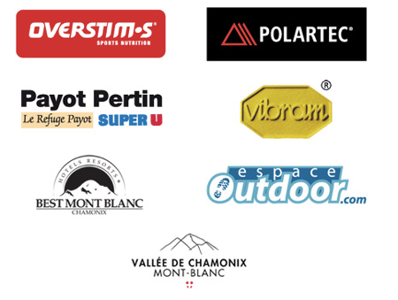 The North Face® Ultra-Trail du Mont-Blanc®, logo partnerzy