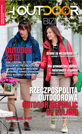 Najnowszy Magazyn 4outdoor – edycja na targi OutDoor Show 2013