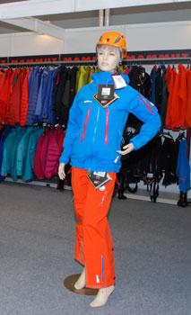 Targi Kielce Sport-Zima 2011, kolorystyczne propozycje marki Mammut (fot. 4outdoor.pl)