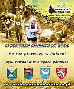 Mountain Marathon 2009, logo