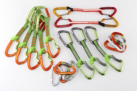 Nowe ekspresy i karabinki Climbing Technology