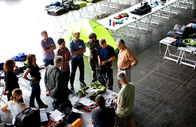Obrady jury OutDoor Industry Award (fot. www.ifdesign.de)
