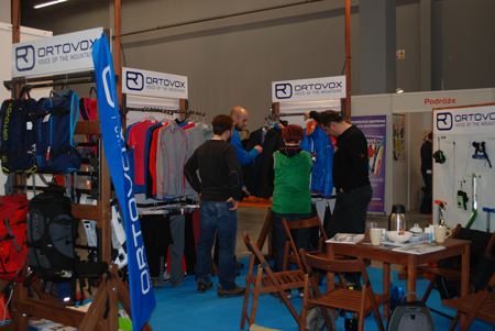 Targi Kielce Sport-Zima 2012, stoisko firmy Bakosport (fot. 4outdoor.pl)