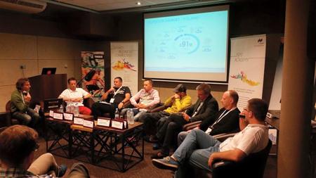 Dyskusja panelowa Polish Outdoor Group & ISPO (fot. ISPO)