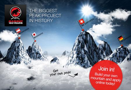 Mammut – projekt 150 szczytów na 150 lat