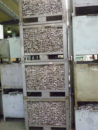 Pierwszy etap produkcji karabinka (fot. Snap)
