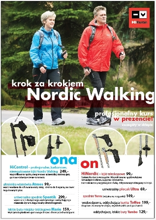 HiMountain szkoli z Nordic Walking