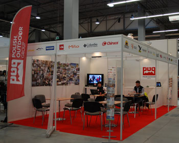 Targi Kielce Sport-Zima 2011, stoisko Polish Outdoor Group (fot. 4outdoor.pl)