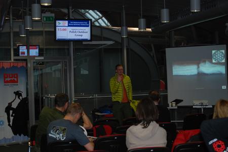 Targi Kielce Sport-Zima 2012, szkolenie Polish Outdoor Group (fot. 4outdoor.pl)