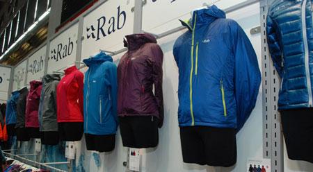 Nowości marki Rab na ISPO MUNICH 2014 (fot. 4outdoor.pl)