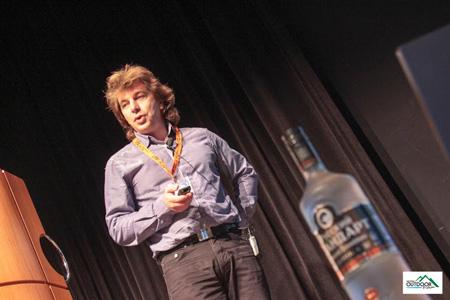 European Outdoor Forum 2012 - Vlad Moroz z RedFox (fot. Jean-Marc Favre)