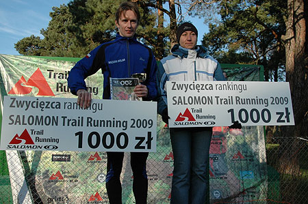 Salomon Trail Runnig w Czechach - zwycięzcy rankingu 2009