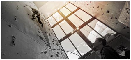 Modułowa ściana wspinaczkowa Montee – nie zawsze duże znaczy lepsze