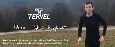 Jakub Burghardt, ambasador marki Tervel