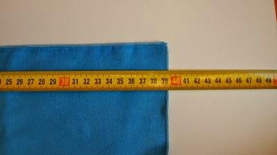 Test ręczników szybkoschnących - sprawdzanie wymiarów