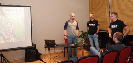 Prezentacja firmy Thule (fot. 4outdoor)