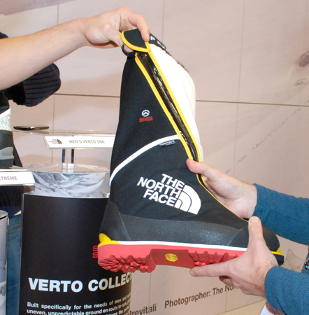 ISPO MUNICH 2013: but Verto S8K marki The North Face (fot. 4outdoor)