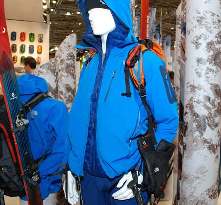 ISPO MUNICH 2013: kurtka Alloy Jacket marki The North Face (fot. 4outdoor)