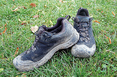 Trail, test - Obsidian WP Keen podczas testu