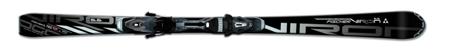 Narty Fisher Viron 6.6 Powerrail przeznaczone do sportowej jazdy. Ich taliowanie to: 18-68-100