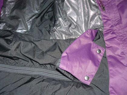 Fartuch przeciwśnieżny w Alpine Attiude Down Jacket marki Columbia
