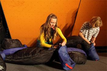 Zadanie sprawnościowe z konkursu sponsorowanego przez markę Yeti (fot. Adam Kokot)
