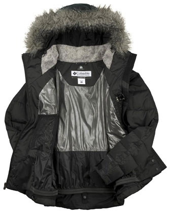 Podszewka kurtki z technologią Omni-Heat Thermal Comfort