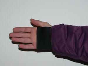 Stretchowe mankiety w Alpine Attiude Down Jacket marki Columbia