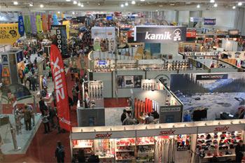 Powierzchnia Salt Palace Convention Center na Outdoor Retailer