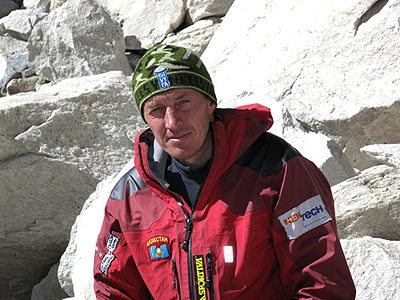 Denis Urubko, team The North Face