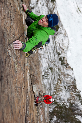 Hansjorg Auer, team The North Face