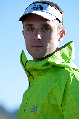 Jez Bragg, team The North Face