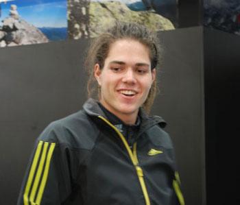 Targi Kielce Sport-Zima 2011, Alex Luger - jeden z członków adidas Climbing Team (fot. 4outdoor.pl)