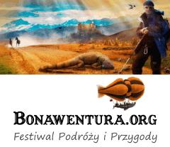 Festiwal Podróży i Przygody Bonawentura, logo