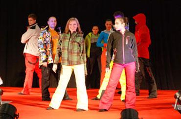 Targi Kielce Sport-Zima 2011, pokaz mody (fot. 4outdoor.pl)