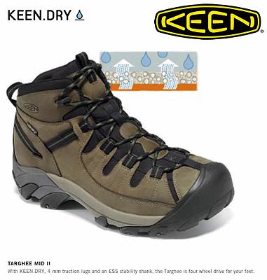 Keen Dry, buty Targee II