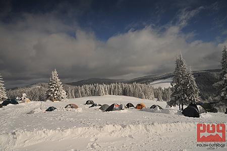 WinterCamp 2011, namioty