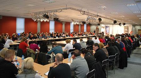 Liczna publiczność na pokazie marki Hi-Tec (fot. 4outdoor.pl)