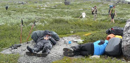 Odpoczynek po posiłku (fot. Aneta Żukowska)