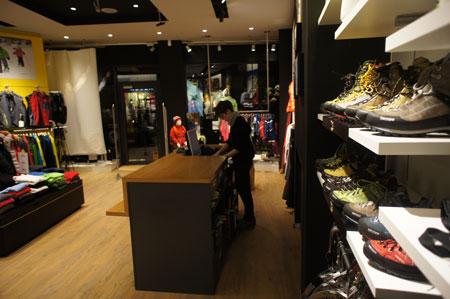 Wnętrze sklepu Polar Sport w Zakopanem (fot. Polar Sport)