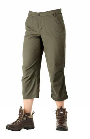 Spodnie damskie Terrain Capri marki Berghaus