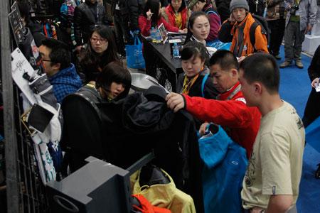 Odwiedzający ispo china 2011 (fot. Messe Munchen GmbH)
