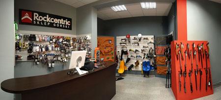 Rockcentric - wnętrze sklepu (fot. Rockcentric)