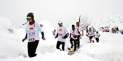 Na trasie (fot. everestmarathon.com)