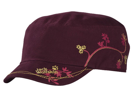 Jack Wolfskin, czapka Floral Cap