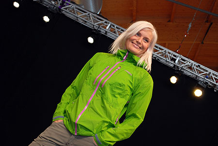 OutDoor Show 2011, pokaz najnowszej kolekcji norweskiej marki Norrona (fot. 4outdoor.pl)